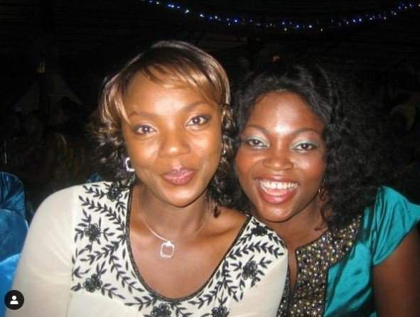 Chioma Akpotha Releases An Epic Throwback Photo Of Herself Posing With Funke Akindele 2