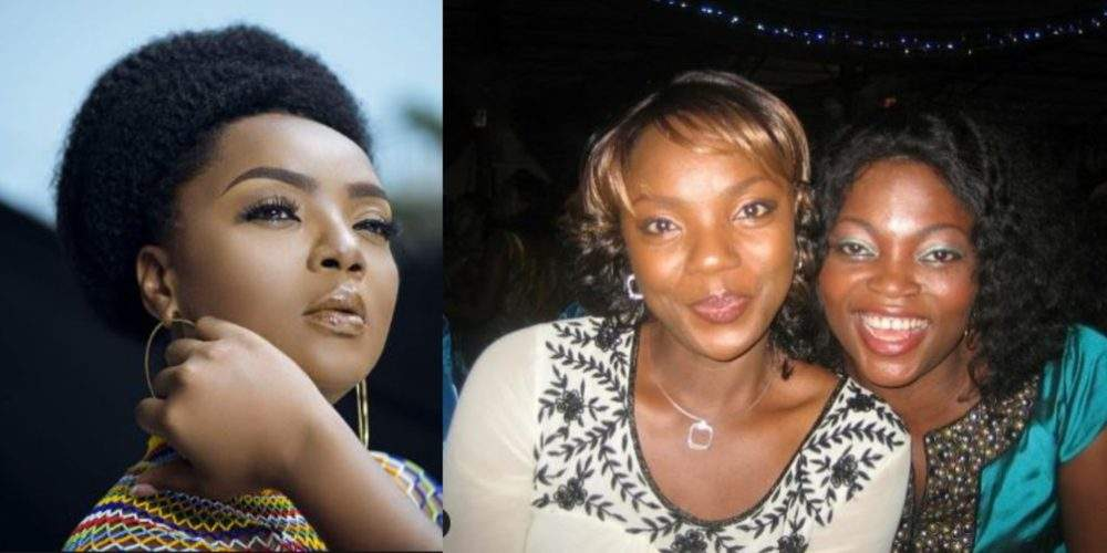 Chioma Akpotha Releases An Epic Throwback Photo Of Herself Posing With Funke Akindele