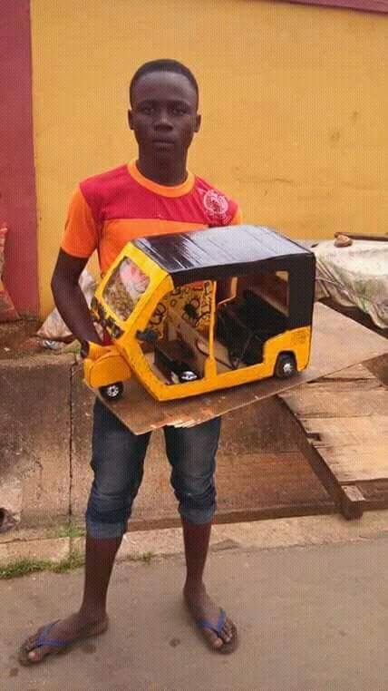 Aww! JSS3 Student In Manufactures Keke - See PHOTOS!