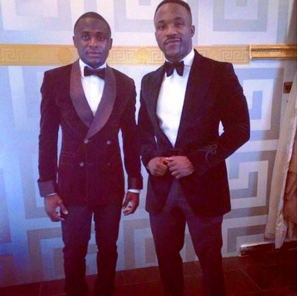 Iyanya And Manager Ubi Franklin 1