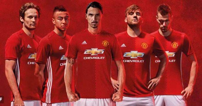 Photos:- Manchester United Unveils 2016/2017 Season Jersey