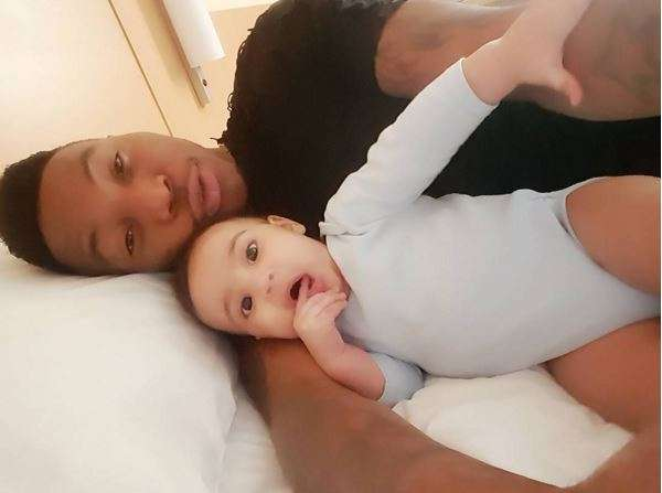Singer Solidstar Shares Adorable Photo Of His Baby Mama