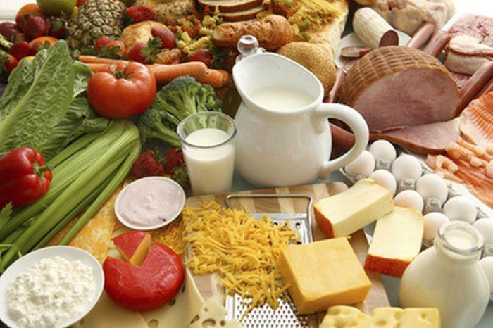 Whole Foods Dairy Grains Fruits Vegetables Milk Cheese Eggs Yogurt Meat