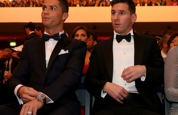 Why I Fight With Lionel Messi And Neymar' - Ronaldo Reveals