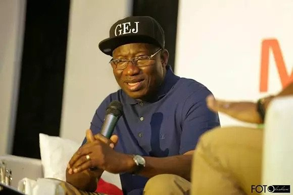 See What Ex President Goodluck Jonathan Said After Nigeria Beat Zambia 1-0 To Qualify For 2018 World Cup