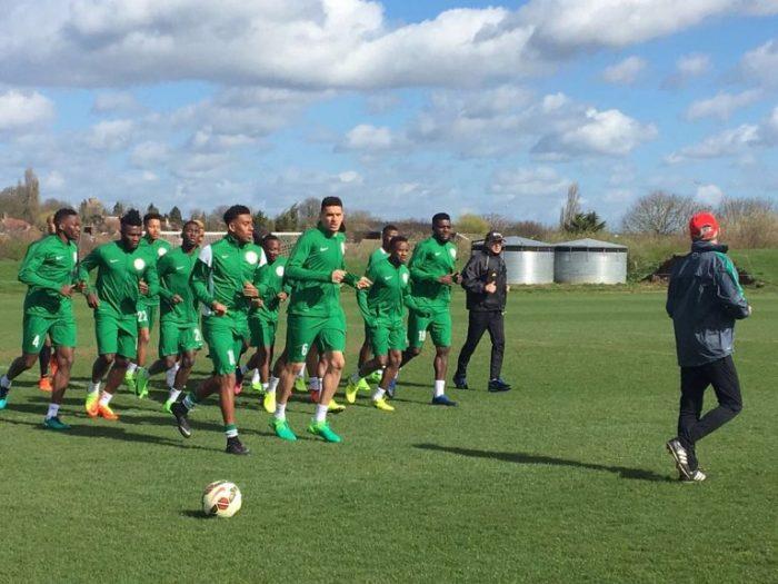 Super Eagles In Training_0