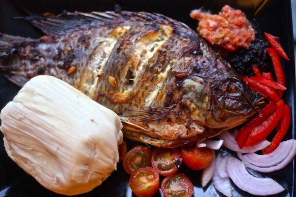 Banku Ghana Food