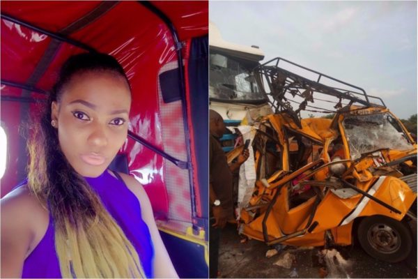 Lady Involved In Ghastly Accident After Taking Selfie In A Keke Napep Lailasnews