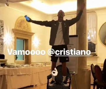 Cristiano Ronaldo Formally Initiated Into Juventus Ahead Of Serie A Debut (Photos)