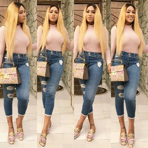Actress Rukky Sanda Steps Out In Gucci Combo For Omotola Jalade's Birthday Getaway (Photos)