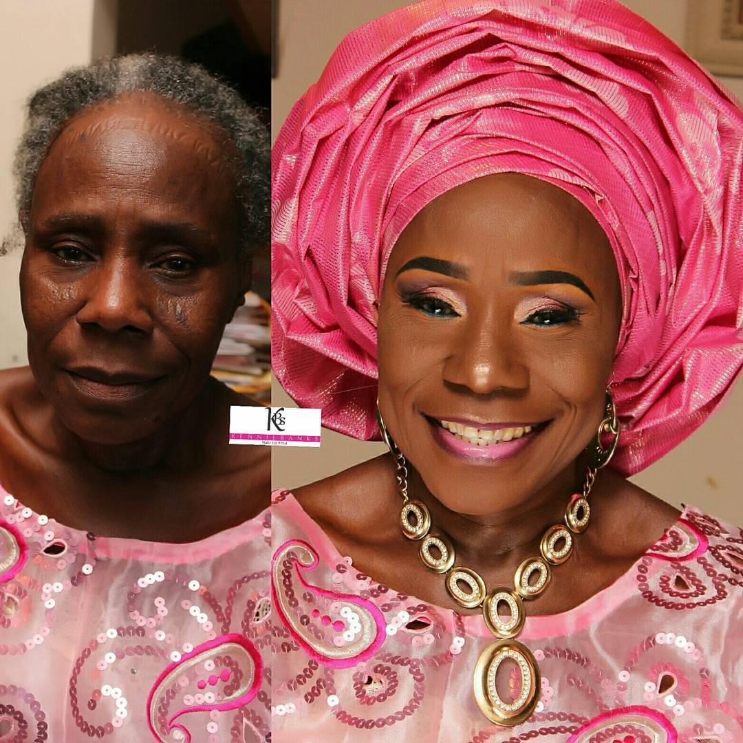 Check Out This Makeup Transformation Of A Grandma (Before & After Pics)