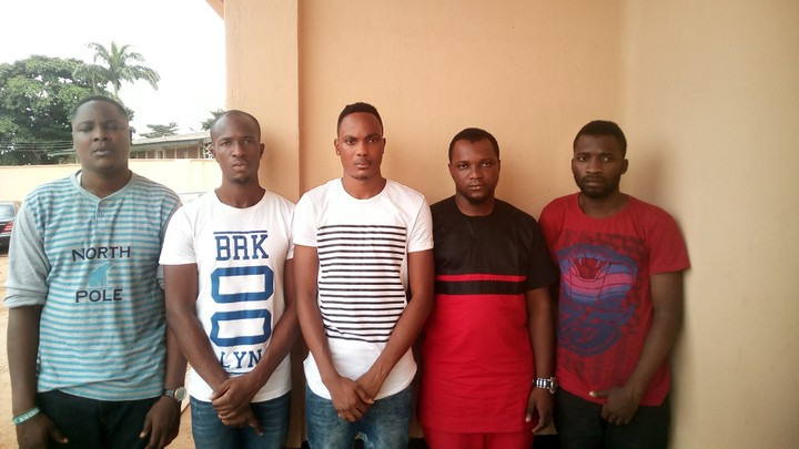 Five Yahoo Yahoo LAUTECH Boys Busted By EFCC, See Their Faces