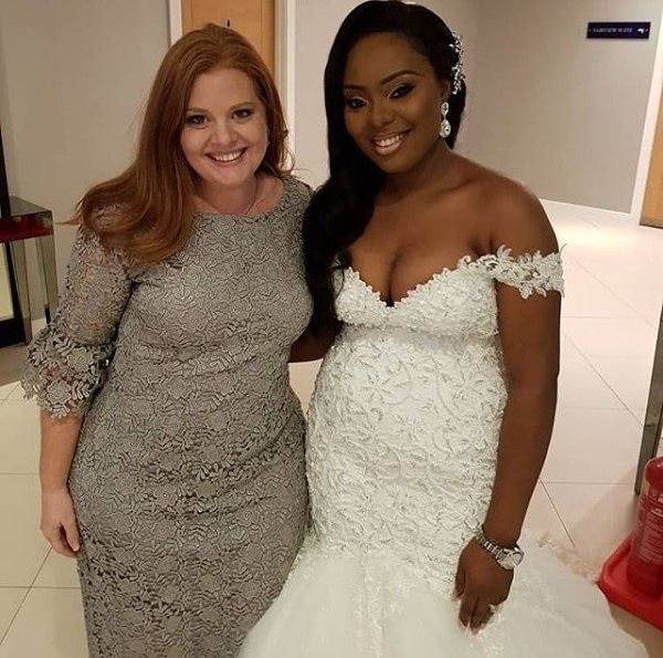 Cleavage-Baring Wedding Gown Of Nigerian Pastor's Daughter Sparks Outrage Online