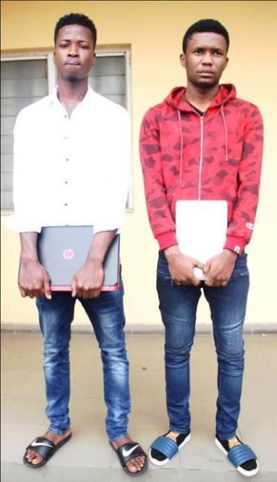 Yahoo Boys With Exotic Car And House Arrested By EFCC In Lagos (Photos)