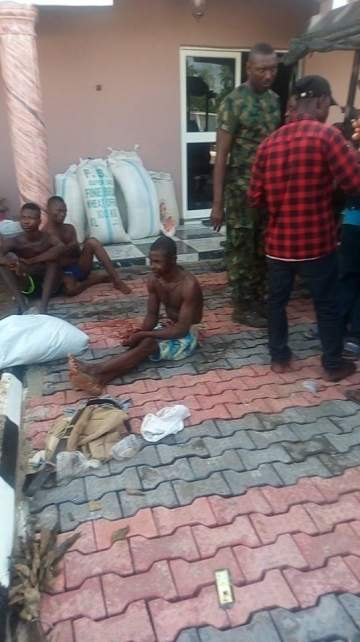 OMG!! See Human Skulls, Arms Recovered From Militant Leader, Don Wanny's Mansion