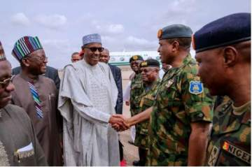I Will Punish Security Chiefs If Another Abduction Happens - President Buhari