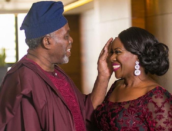 How I Wooed My Wife, Joke Silva - Veteran Nollywood Actor Olu Jacob