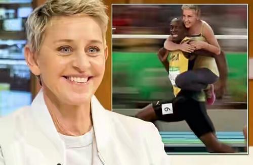 Ellen DeGeneres Responds To Racism Accusations After 'Usain Bolt Tweet'