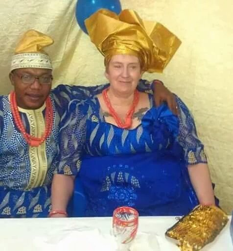 29-Year Old Nigerian Finds Love In The Arms Of 69-Year Old European Grandma