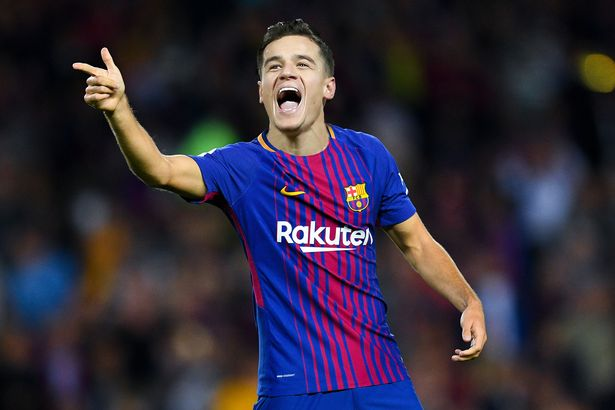 Philipe Coutinho Mocked Up In Barcelona Shirt