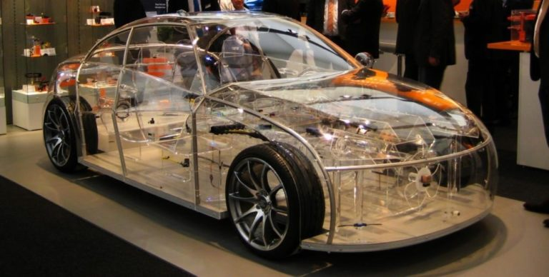 See The World's First Transparent Car (Photos)