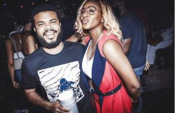 DJ Cuppy, Davido's Manager Are Rated Best Nigerian Celebrity Couple (See Why)