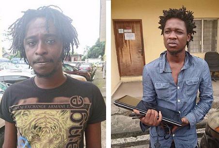 Photos: Yahoo Boys Arrested by EFCC In Lagos