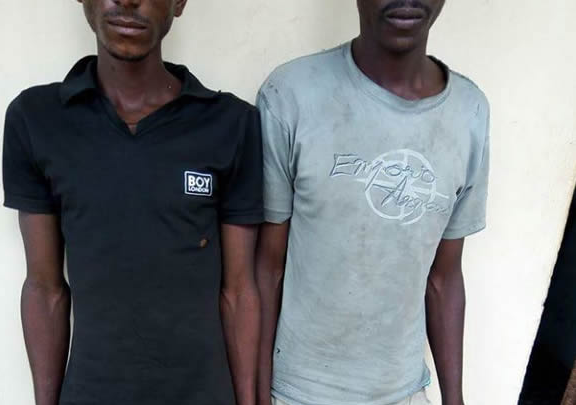 25-Year Old Man Caught With Head Of His Son