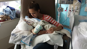 Mom Holds Separated Twin For First Time, Says It's The Best Moment Of Her Life