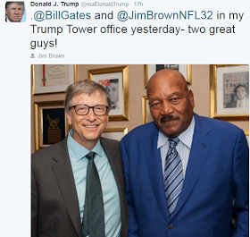 What Bill Gates and Jim Brown Did when visit Donald Trump at Trump Towers