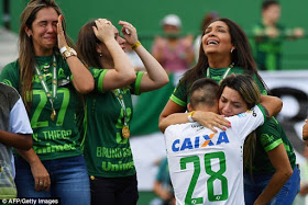 Chapecoense Play Emotional First Match Since Plane Crash, As Victims' Families Breakdown In Tears