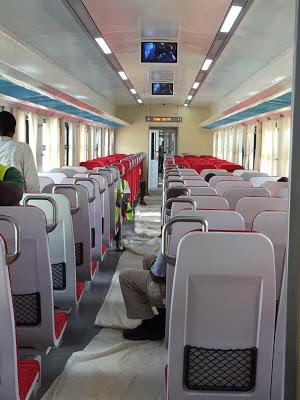 See photos of the new Kaduna-Abuja rail