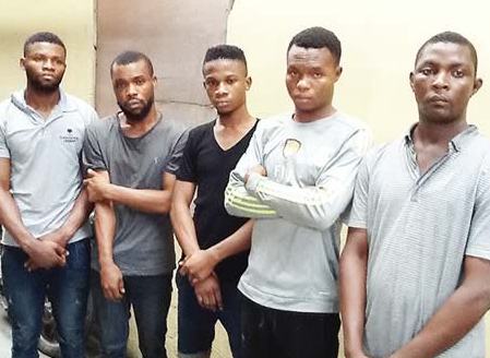 Photo: Workers Of Pharmaceutical Company Steal Drugs Worth N56m