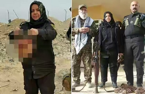 Meet Iraqi Gran Who Beheads ISIS Fighters & Cook Their HEADS