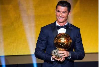 BREAKING NEWS! Real Madrid Star Cristiano Ronaldo Wins 5th Ballon d'Or Award, Equaling Rival Lionel Messi