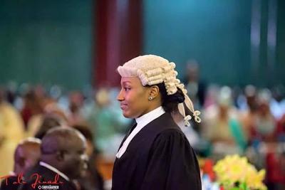 Photos: President Buhari's Daughter Called To Bar