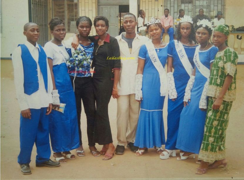 TBT: Checkout this epic throwback photo of Chika Ike in secondary school