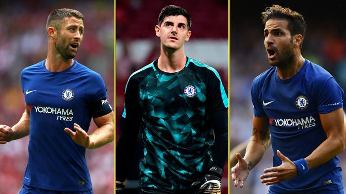 Seven Members Of Chelsea's First-team Squad Set To Be Out Of Contract Within The Next Year