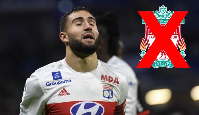Nabil Fekir's Move to Liverpool is Off, Confirm Lyon