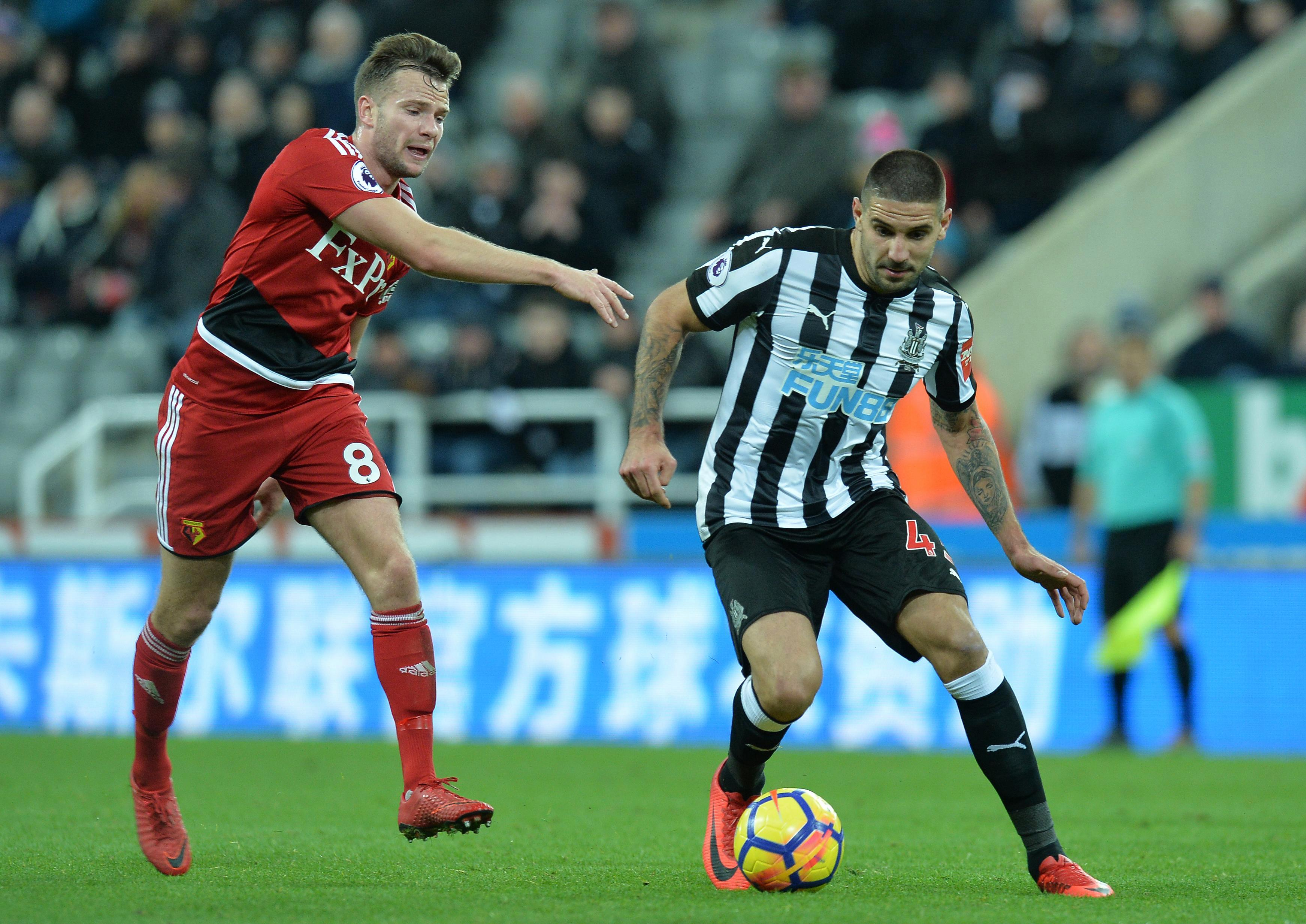 Newcastle Mitrovic