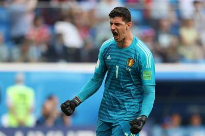 Thibaut Courtois wins 2018 World Cup Golden Glove award