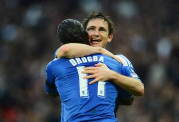 Frank Lampard: Incoming Chelsea manager wants Didier Drogba as part of his backroom team