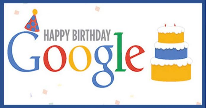 It's Google's Birthday, Here's How It Looked 19 Years Ago