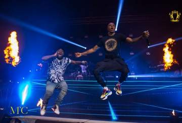 Check Out All The Photos As Davido Shut Down The O2 Academy For The 30 Billion UK Tour
