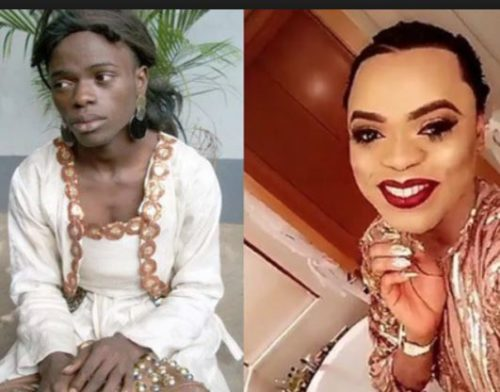 Bobrisky Throwback