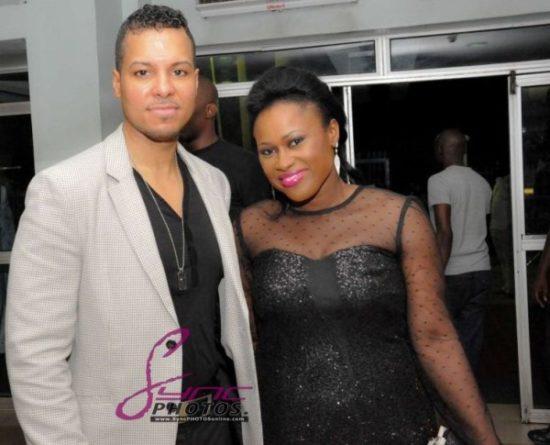 Nollywood Superstar Uche Jombo Husband Kenny Rodriguez My Life My Damage Lagos March 2013 BellaNaija008