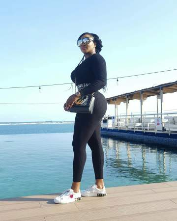 Ini Edo Flaunts Her Curves In New Photos