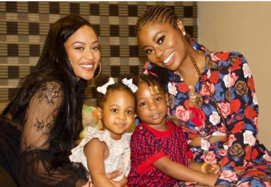 Davido's Baby Mamas Become Best Friends, Shut Down The Internet With Cool Photos!