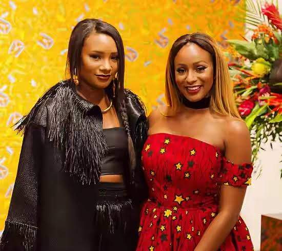 Dj Cuppy Shares Glamorous Throwback Photo With Her Sister, Temi Otedola