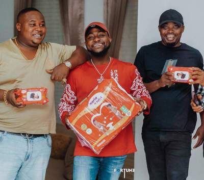 Davido & Chioma are Expecting a Baby Boy & He's Already Got an Endorsement Deal!